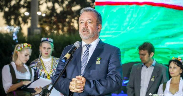 Визит Фабрициуса в Узбекистан