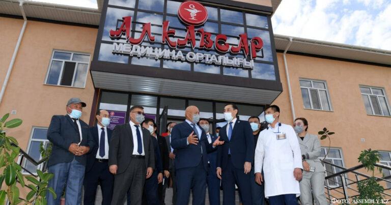 В Туркестанской области открылся медицинский центр