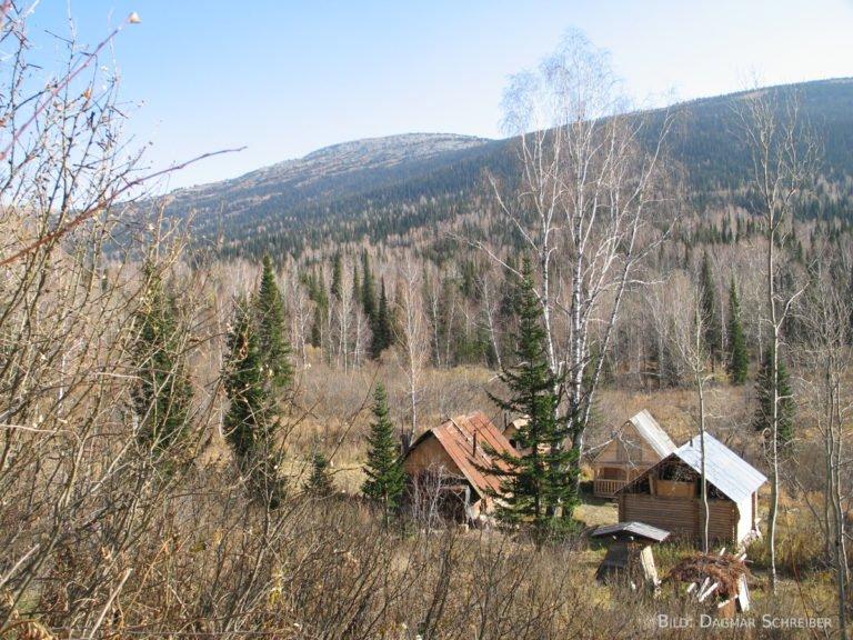 Die Imkerhütte im Altai