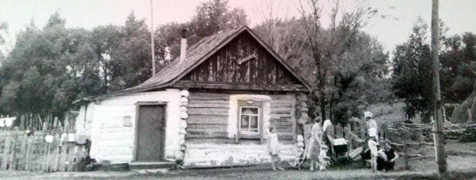 Das Haus der Familie Tjunkin befindet sich im Dorf Gernischowka. | Bild: Ostertag