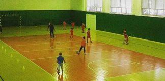 Fußballnachwuchs beim Training in Astana