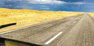 Alles andere als langweilig – Fahrt durch die kasachische Steppe, 2012