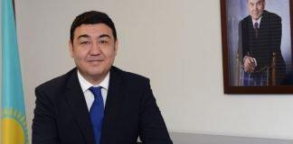 Der Botschafter der Republik Kasachstan in der Bundesrepublik Deutschland, S.E. Bolat Nussupov