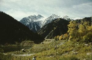 Landschaftsaufnahmen: Hier war Fotografieren für Krauses Reisegruppe erlaubt