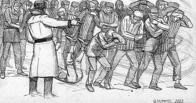 """""""Von Hunden getrieben"""": 75. Jahrestag der Deportation"""