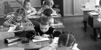 Ein usbekisches Migrationskind besucht die russische Schule. | Foto: Autor
