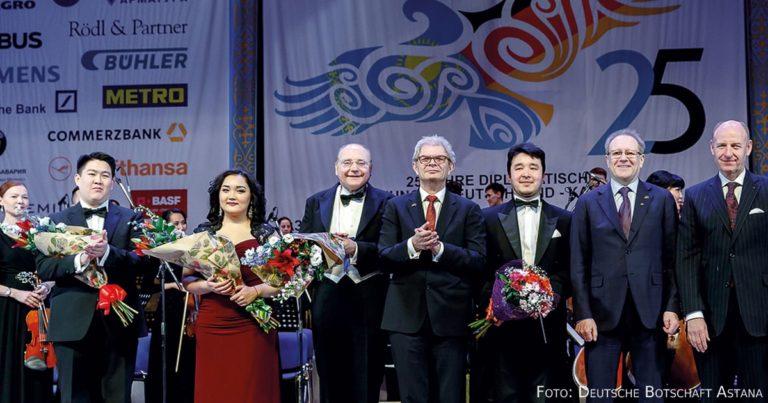 Festlicher Auftakt des kasachisch-deutschen Jubiläumsjahres