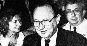 Hans Dietrich Genscher in der DAZ