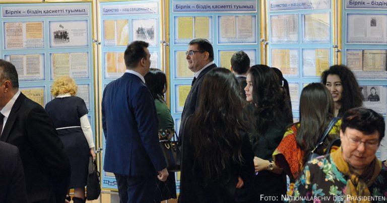 Ethnischer Reichtum Kasachstans