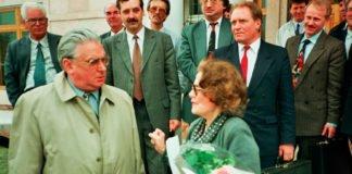 Horst Waffenschmidt im Deutschen Haus Almaty