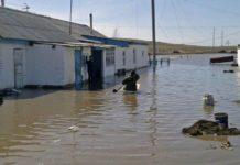 Überschwemmungen in Zentralasien