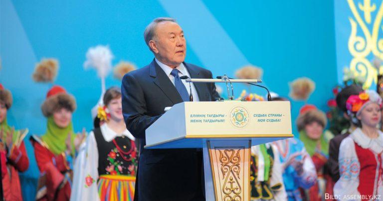Politische Mitsprache der Ethnien durch die Volksversammlung Kasachstans