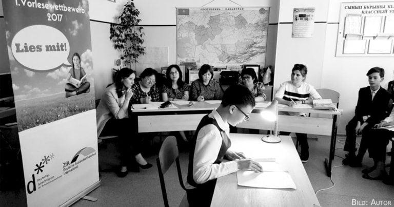 Vorlesewettbewerb in Astana