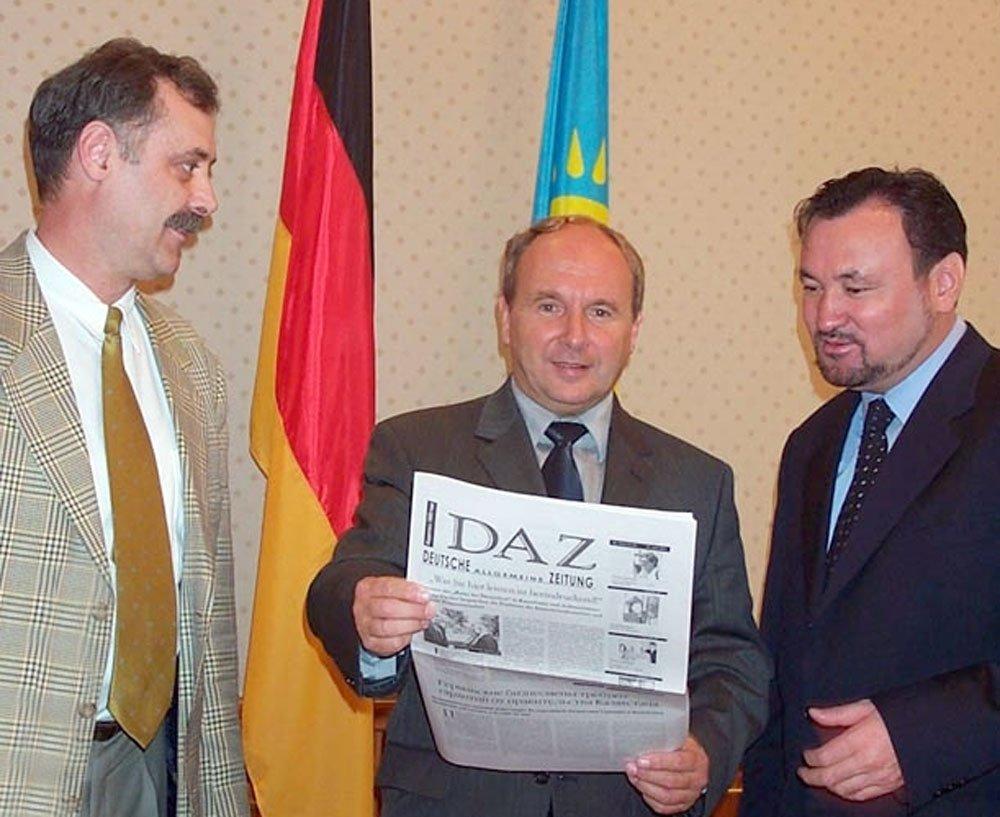 Jochen Welt mit der DAZ