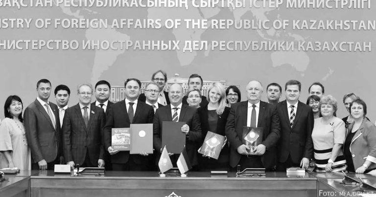 Deutsch-kasachische Kooperation gestärkt