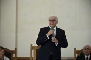 Der Bundespräsident Frank-Walter Steinmeier begann seinen offiziellen Besuch in Kasachstan mit einer Zusammenkunft der wichtigsten Vertreter der deutschen Minderheit in einem lutherischen Gotteshaus.