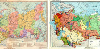 Die administrativen Grenzen der Sowjetunion stimmten oft mit den ethnischen Grenzen überein.