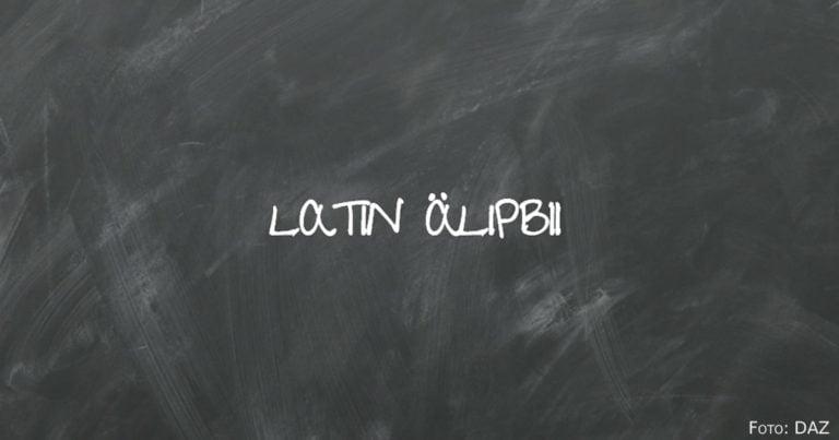Latinisierung des kasachischen Alphabets