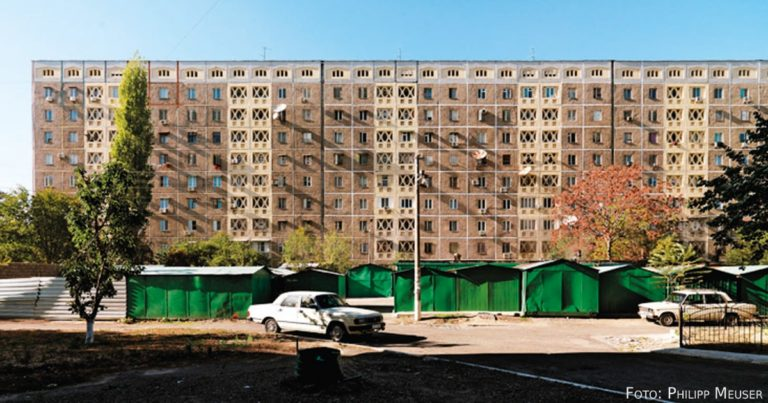 Von Chruschtschowkas und glänzenden Einkaufszentren – das neue urbane Eurasien