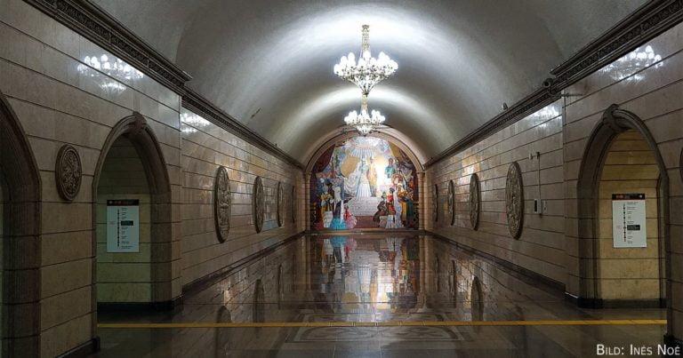 Foto der Woche | Die Metro Almaty und ihre neun einzigartigen Stationen