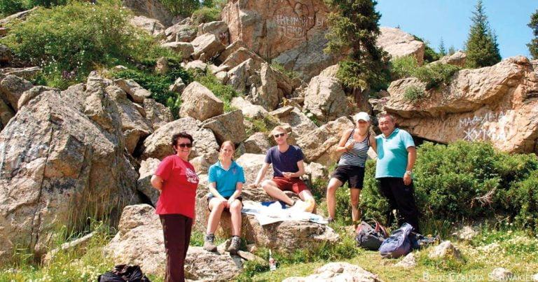 Vom Picknick in den Bergen zum Festmahl