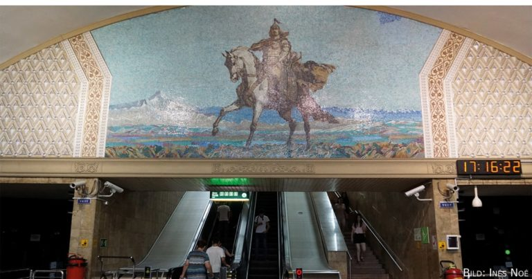 Foto der Woche   Die Metro Almaty und ihre neun einzigartigen Stationen