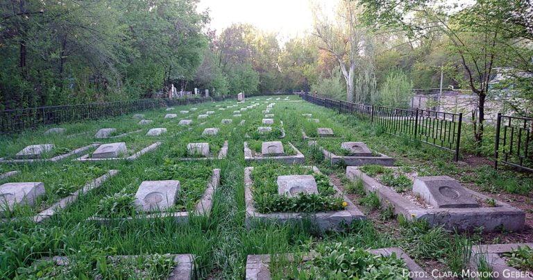 Hinterlassenschaften japanischer Kriegsgefangener in Almaty