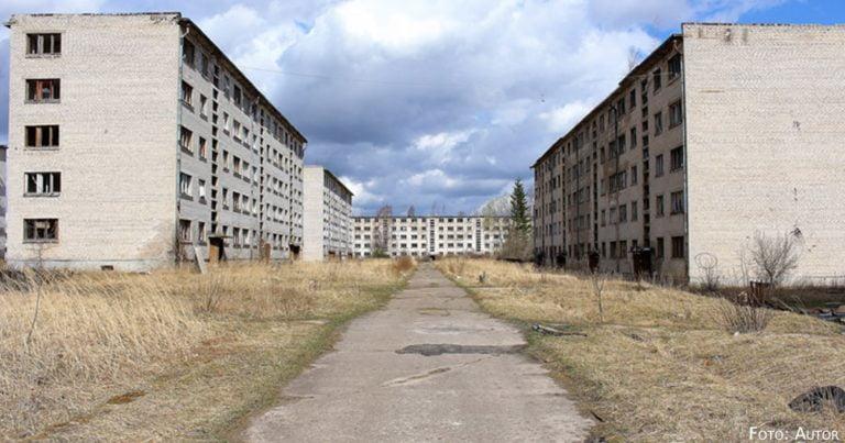 Die größte Geisterstadt im Baltikum: Zu Besuch in Skrunda-1
