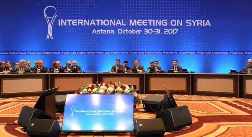 Syriengespräche in Astana