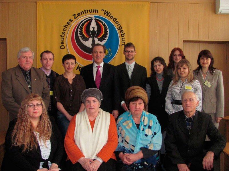 Der Botschafter der Bundesrepublik Deutschland in Kasachstan, Guido Herz, hat zum ersten Mal Karaganda besucht.