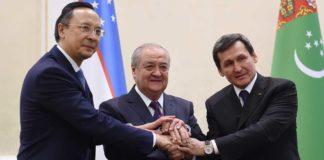 Grenzabkommen zwischen Kasachstan, Usbekistan und Turkmenistan