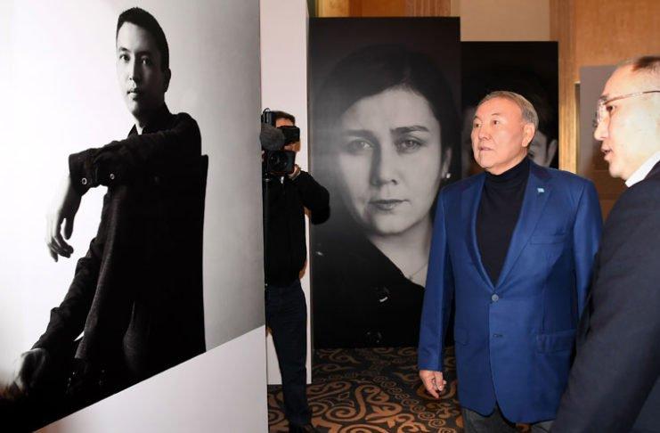 """Der kasachische Präsident hatte im vergangenen Jahr das Projekt """"100 neue Gesichter Kasachstans"""" ins Leben gerufen."""