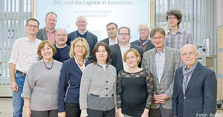 Deutsch-Kasachische Universität stärkt ihre Logistikkompetenz