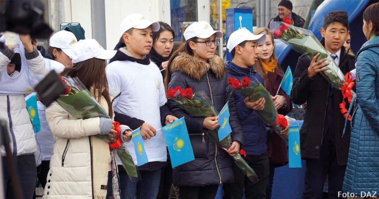 Mehr Kinder, weniger Tode: Kasachstans Bevölkerung wächst