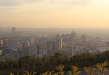 Eine neue Schadstoff-App soll über die Luftqualität in Kasachstans Städten infomieren.