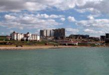 In Aktau soll eine Öko-Stadt entstehen.