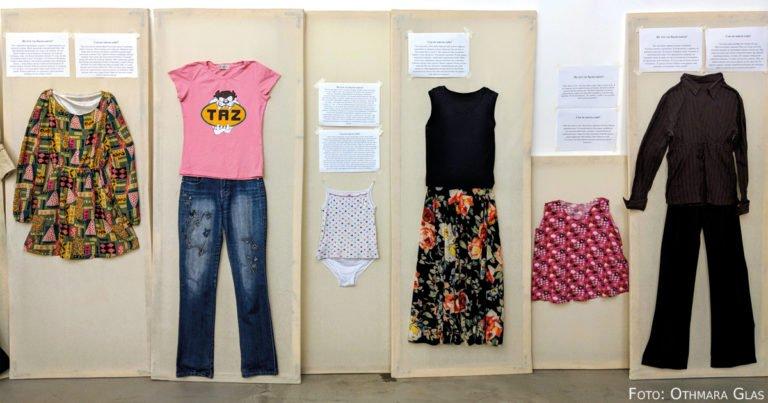 Kleidung, die provoziert