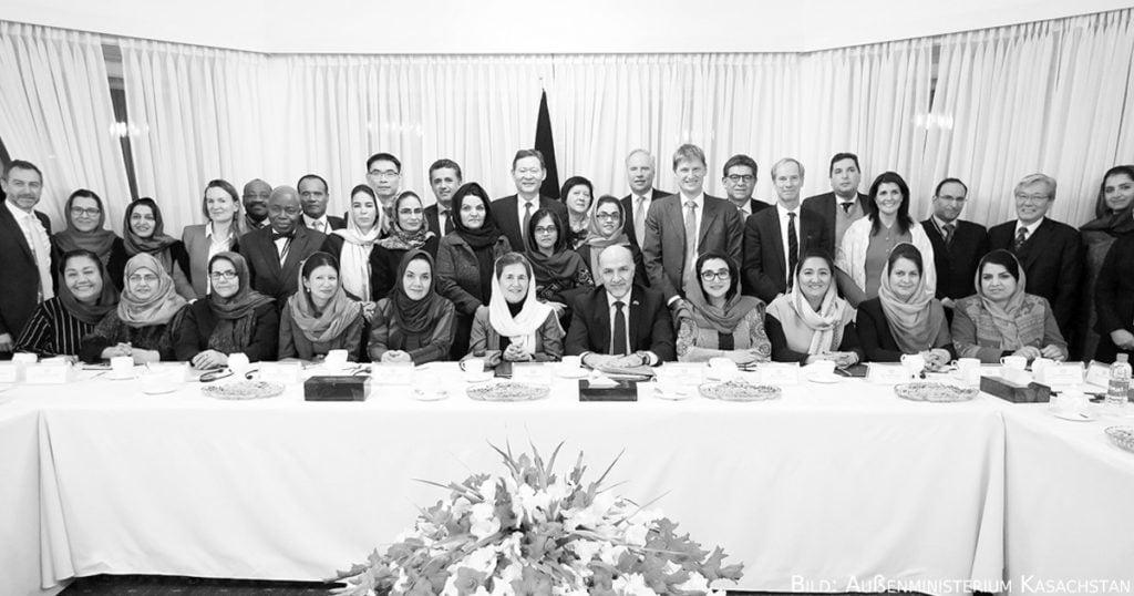 Besuch einer Delegation des Sicherheitsrates in Afghanistan.