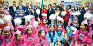 Kasachische Kinder