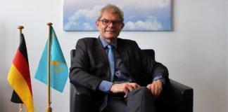 Botschafter der Bundesrepublik Deutschland in Kasachstan: Rolf Mafael.