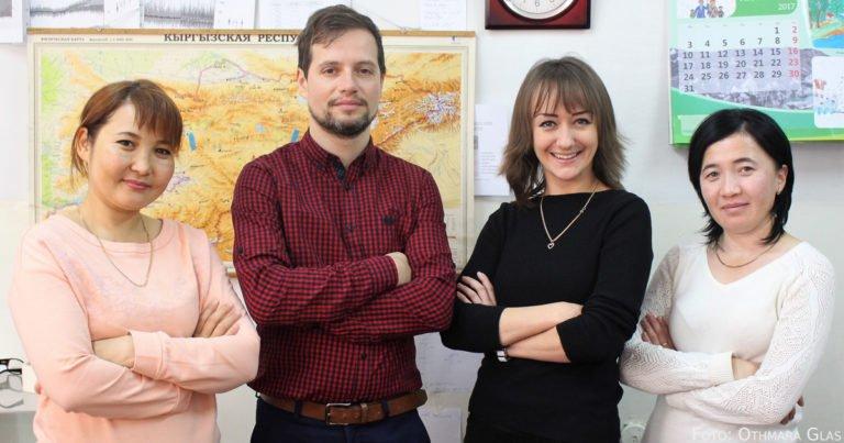 Robert Bierkandt: Wie ein Deutscher einen Klimadienst in Kirgisistan aufbaut