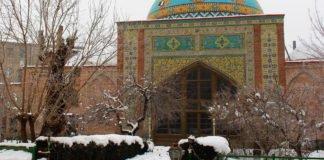 Die blaue Moschee.
