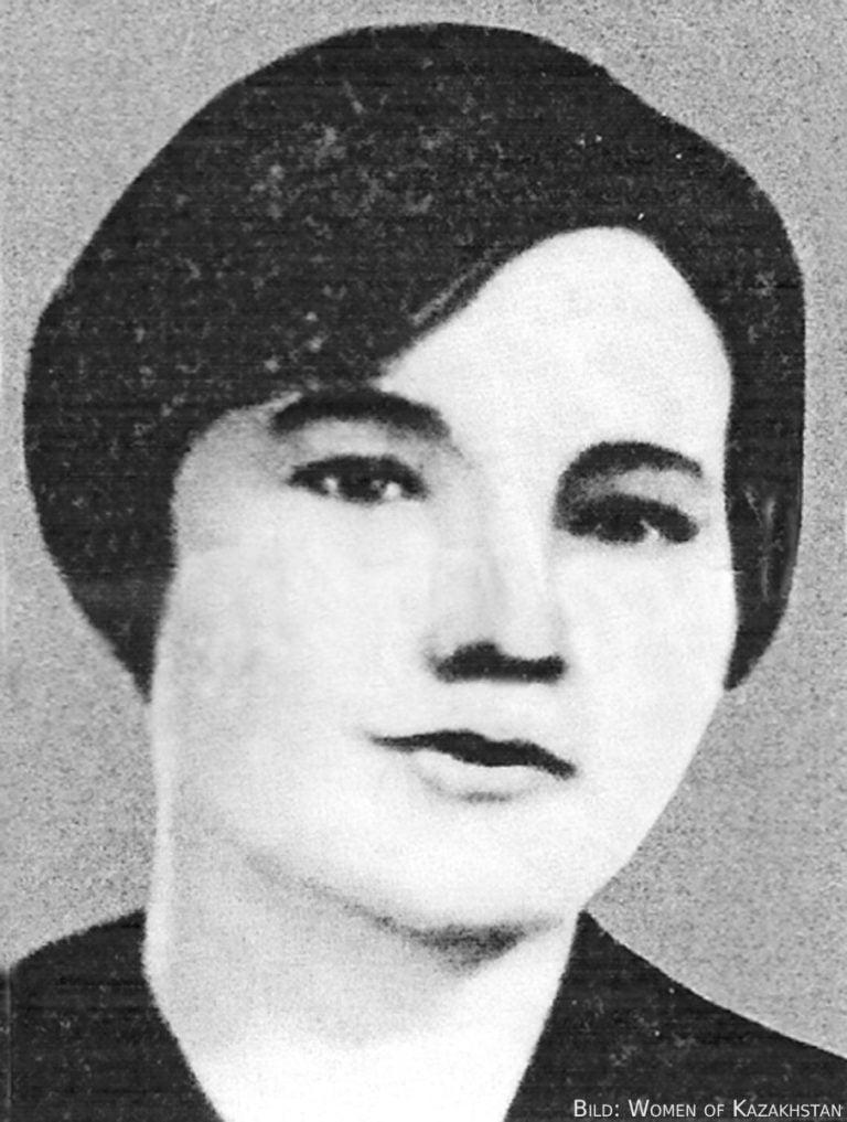 Alma Orasbajewa – die Gründerin der Frauenbewegung Kasachstans