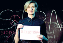 Jelena Taimatowa ist Lysistrata.