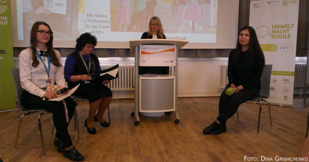 Jugendkonferenz in Berlin.