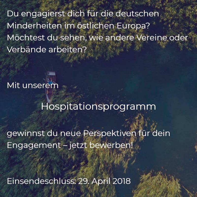 Hospitationsprogramm 2018