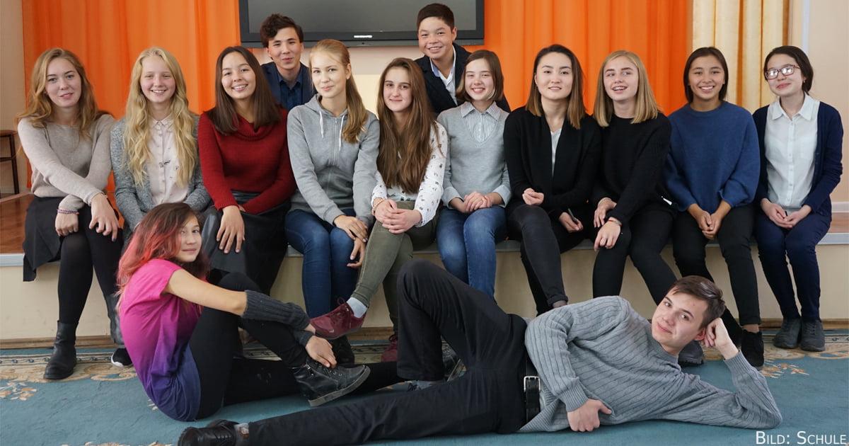 Das 3. Gymnasium Karaganda