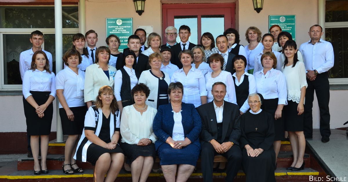 Die St. Lorenz-Schule Kornejewka