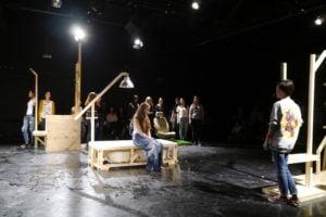Jelinek's Stück in Almaty