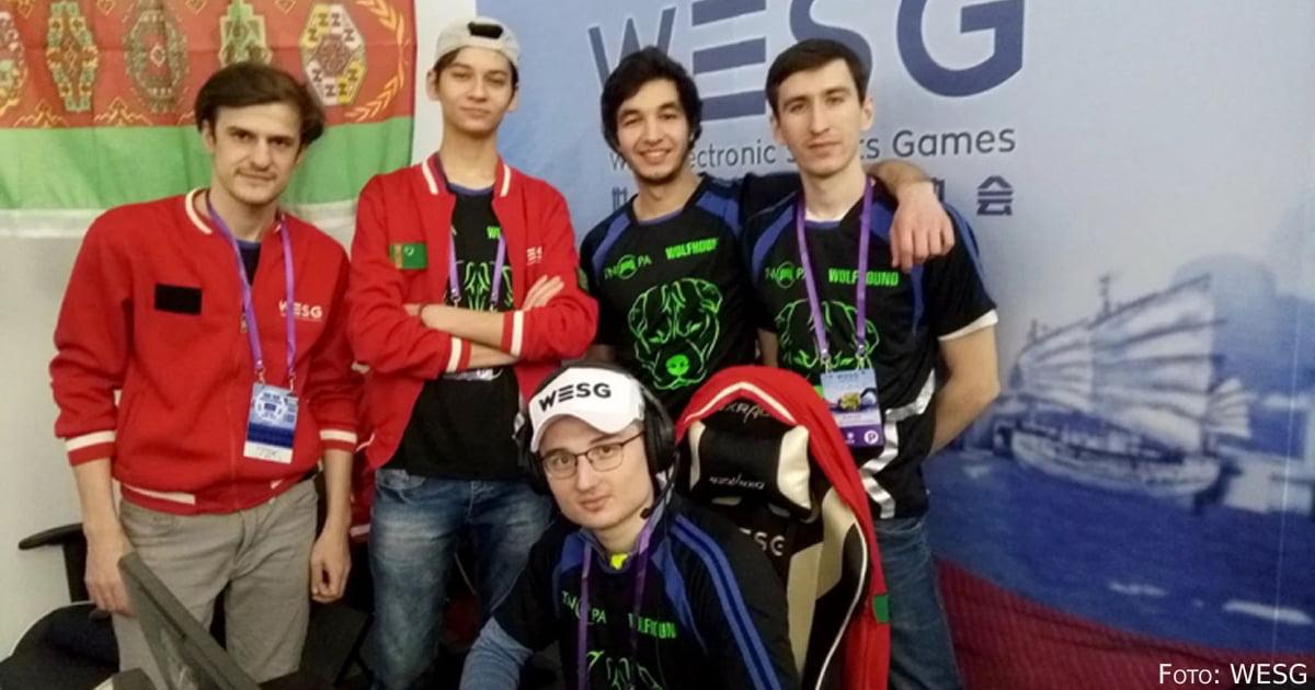 Das turkmenische E-Sport Team